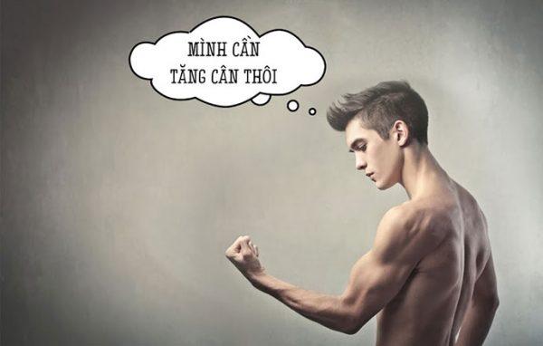 Bí quyết tăng cân hiệu quả cho đàn ông