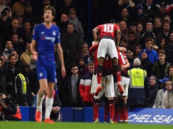 M.U đánh bại Chelsea tại cúp FA
