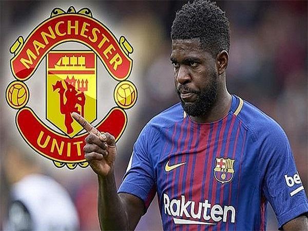Barcelona sẵn sàng để Umtiti đến với M.U