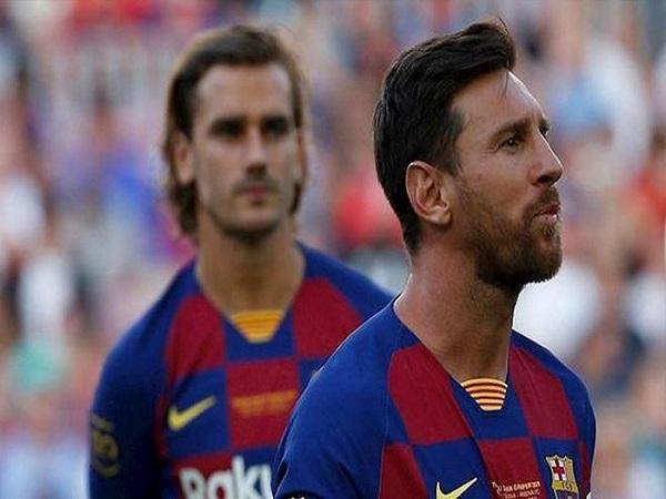Messi từ chối bắt tay Griezmann, vì sao?
