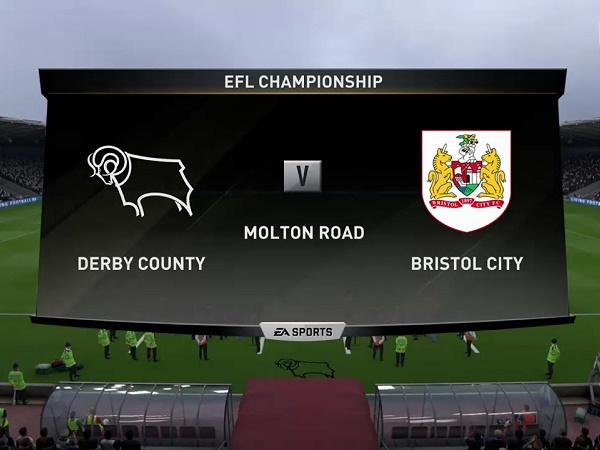 Nhận định Derby County vs Bristol City, 1h45 ngày 21/08