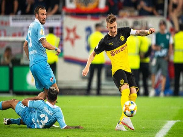 Uerdingen 0-2 Dortmund: Thắng lợi nhẹ nhàng