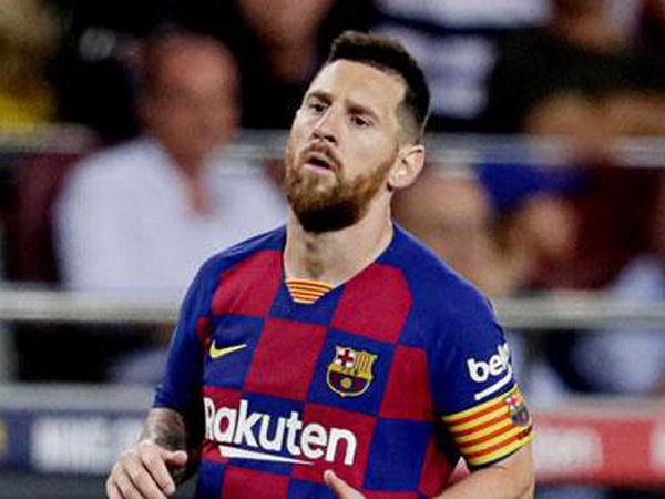 Messi có thể kịp ra sân gặp Inter Milan