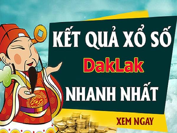 Soi cầu XS Daklak chính xác thứ 3 ngày 29/10/2019