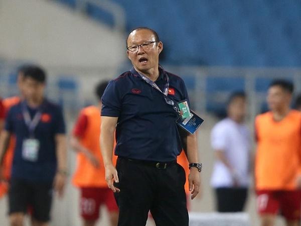 Thầy Park hài lòng với các học trò với chiến thắng trước U22 Lào