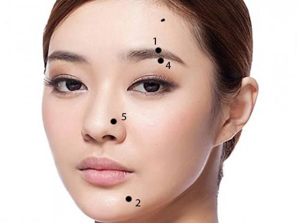 Vị trí nốt ruồi trên mặt phụ nữ nói lên điều gì?