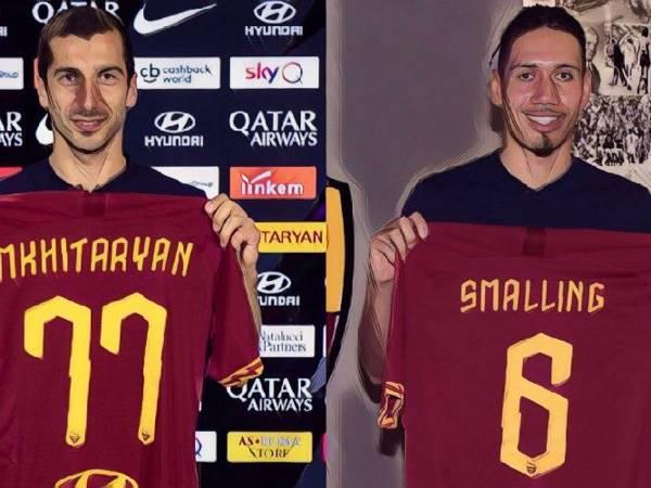 Tin bóng đá Italia 26/5: Roma quyết giữ Smalling & Mkhitaryan