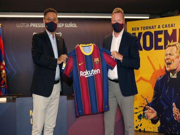 Tin bóng đá sáng 21/8: Ronald Koeman nói gì trong ngày ra mắt Barca