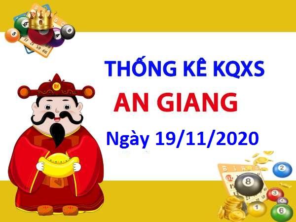 Thống kê XSAG ngày 19/11/2020