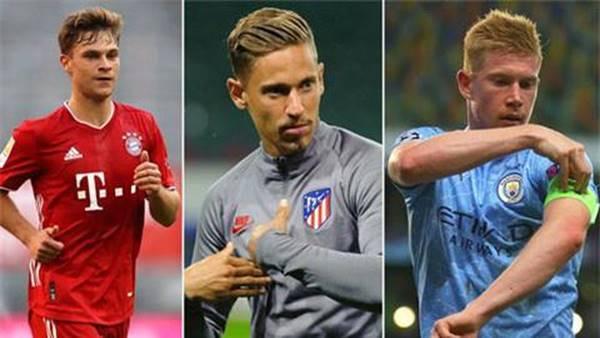 Sao Atletico cùng De Bruyne và Kimmich là những tiền vệ hay nhất châu Âu