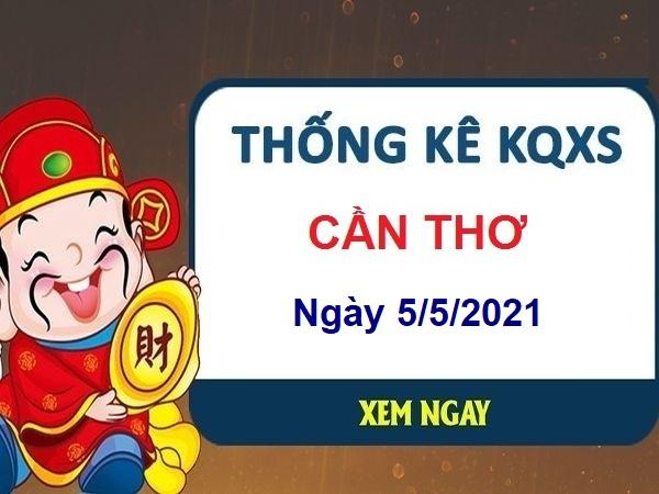 Thống kê KQXSCT ngày 5/5/2021