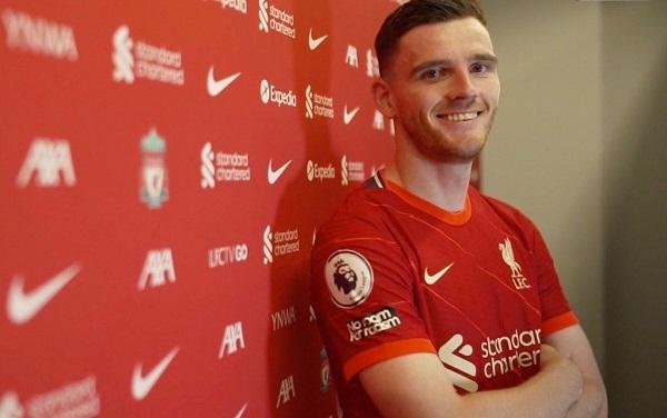 Tin thể thao 25/8: Liverpool trói chân Andy Robertson